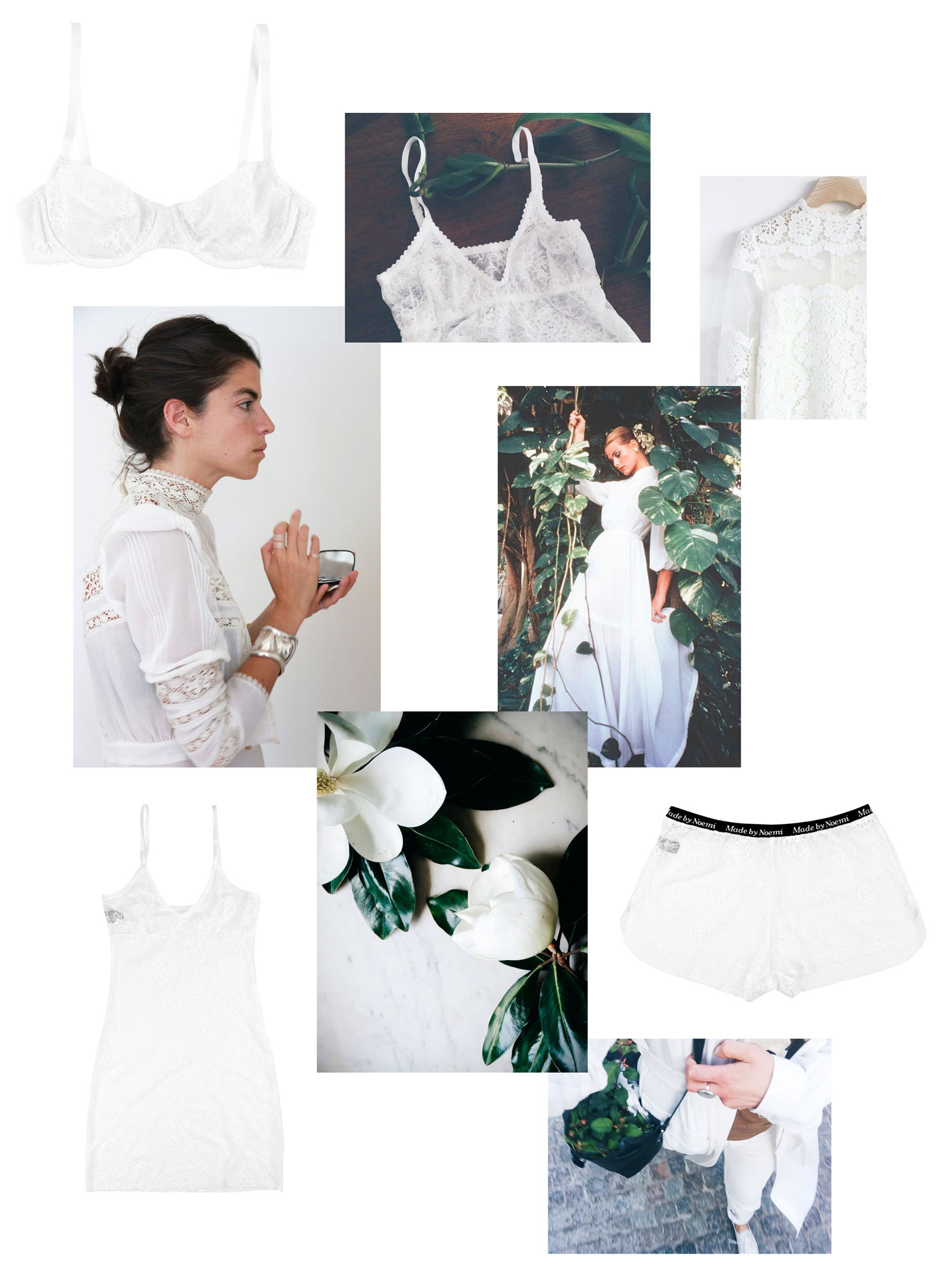 Made by Noemi - summer white inspiration!