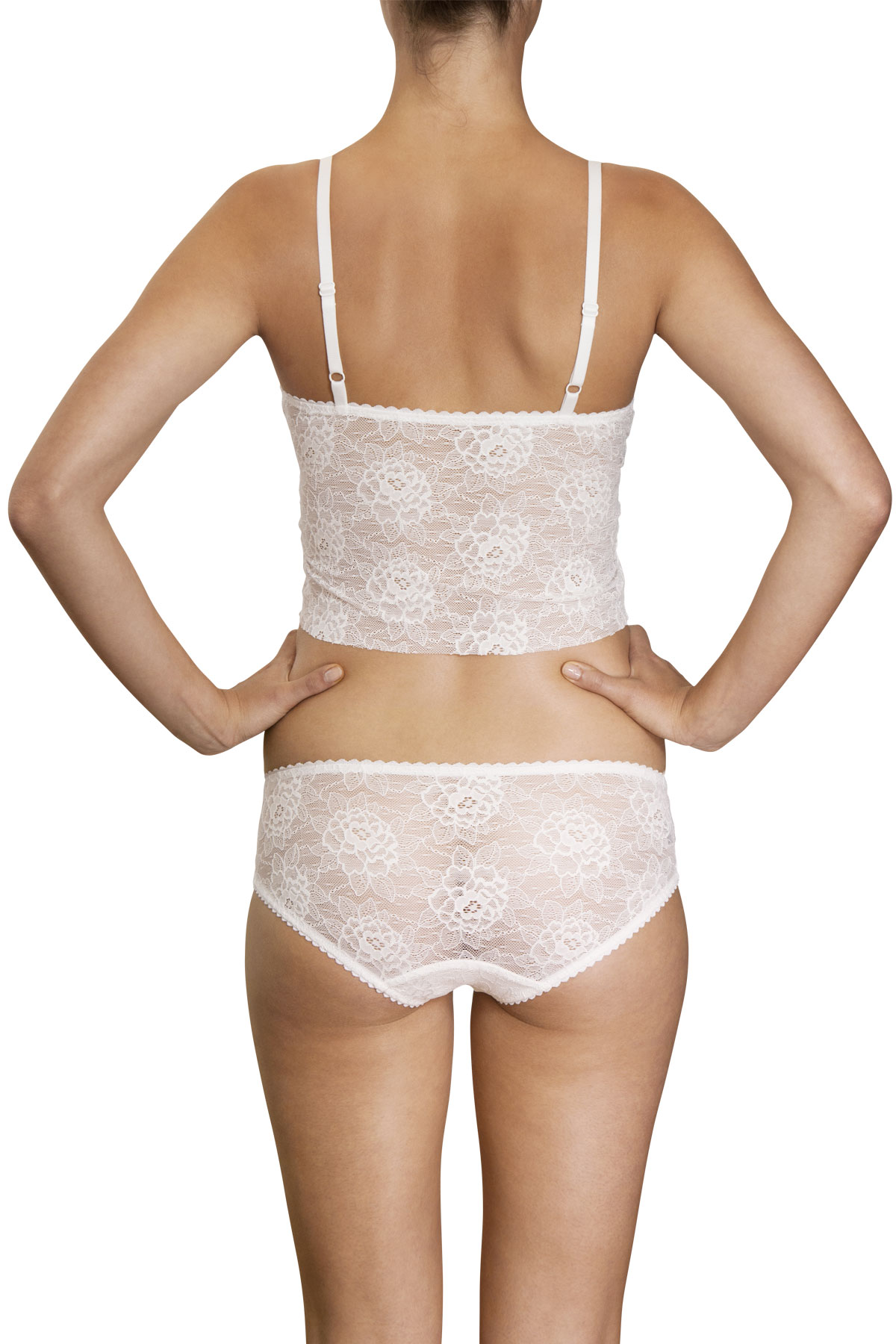 8c26354029 White Lace bustier - Made by Noemi