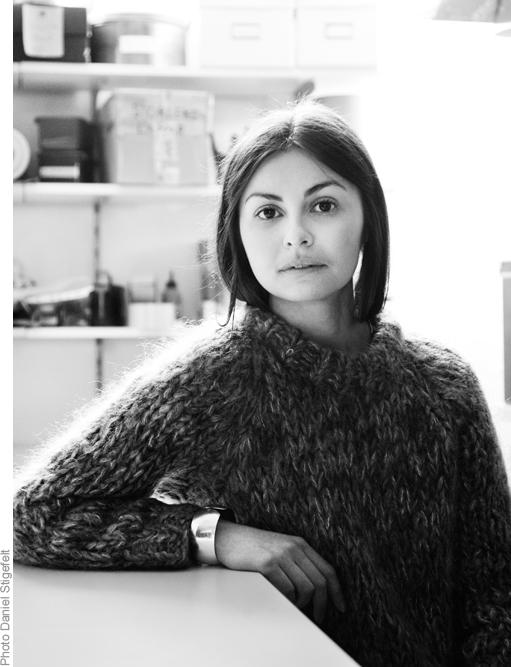 Designer Noemi Ivanova
